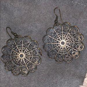 Jewelry - Metal mándala Earrings